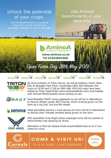 Open Farm Day 28th May 2019
